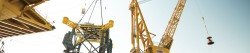 Sapura Energy's driller and crane